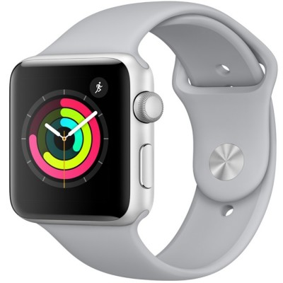 AW Series 3 Sport 42mm Silver - GPS