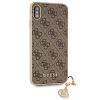 Ốp lưng Guess Max Brown iPhone Xs Max