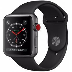 AW Series 3 Sport 38mm Black - LTE