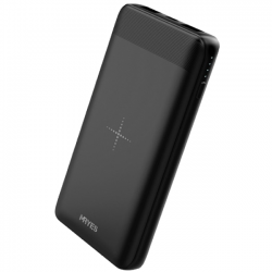 MRYES Vogue 10000mAh Wireless Power Bank Black