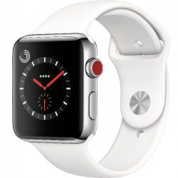 Apple Watch Series 3 38mm LTE Stainless Steel Sport