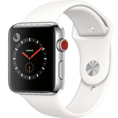Apple Watch Series 3 42mm LTE Stainless Steel Sport