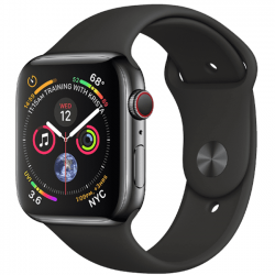 AW Series 4 40mm Body Nobox Black Stainless Steel Sport Band