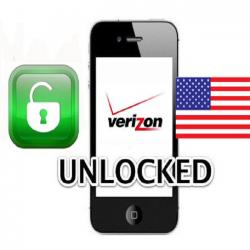 Unlock mạng Verizon