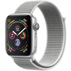 Apple Watch Series 4 40mm (MU652) GPS Silver Aluminum Case with Seashell Sport Loop