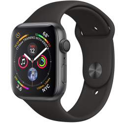 Apple Watch Series 4 40mm (MU662) GPS Space Gray Aluminum Case with Black Sport Band