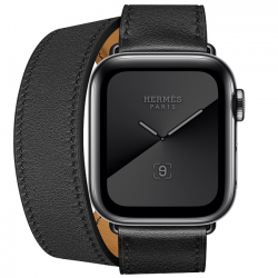 AW Series 5 Space Black Stainless Steel Case with Double Tour MX2Q2