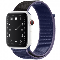 AW Edition 40mm White Ceramic Sport Loop Midnight Blue MX3N2