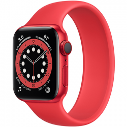 Apple Watch Series 6 40mm GPS + Cellular (PRODUCT)Red Aluminum Case with Red Solo Loop