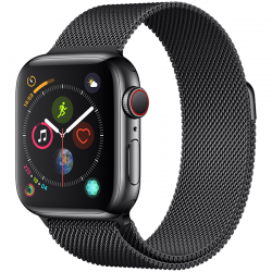 Apple Watch Series 4 40mm (MTUQ2) GPS + Cellular Stainless Steel Case with Milanese Loop