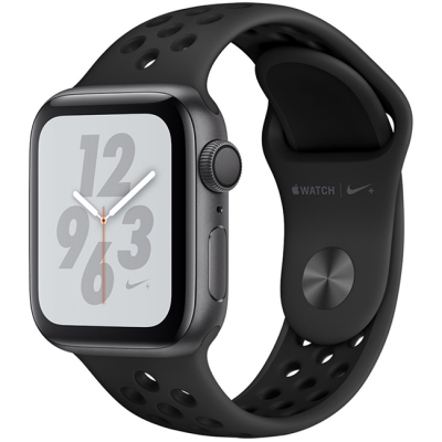 AW Series 4 Nike+ 44mm (MU6L2) Gray Aluminum Sport Band