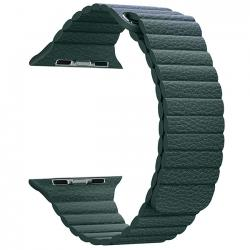 Dây Leather Loop Coteeci Green 40mm-44mm