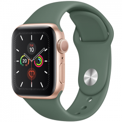 AW Series 5 40mm Gold Alumium Green Sport