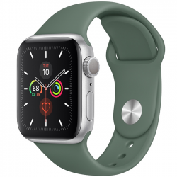 AW Series 5 40mm Silver Alumium Green Sport