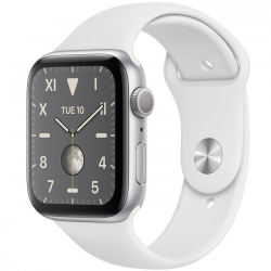 AW Series 5 44mm Silver Titanium Sport Band