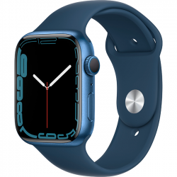 Apple Watch Series 7 41mm (MKN13) GPS Blue Aluminum Case with Abyss Blue Sport Band