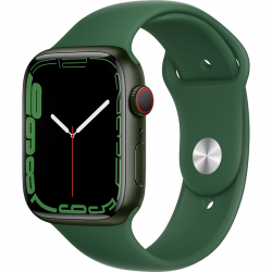 Apple Watch Series 7 41mm (MKHT3) GPS + Cellular Green Aluminum Case with Clover Sport Band