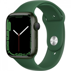 Apple Watch Series 7 41mm (MKN03) GPS Green Aluminum Case with Clover Sport Band