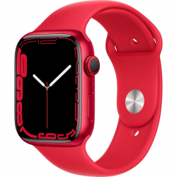 Apple Watch Series 7 41mm (MKN23) GPS (PRODUCT)Red Aluminum Case with Red Sport Band