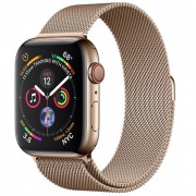Apple Watch Series 4 44mm (MTV82) GPS + Cellular Stainless Steel Case with Milanese Loop