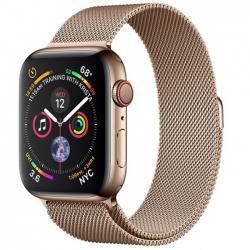 Apple Watch Series 4 44mm LTE Stainless Steel Case with Milanese Loop