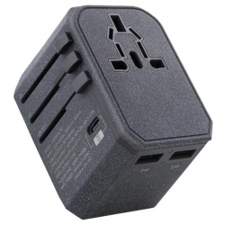 Sạc Uniq VoyagePD World Travel Adapter 2 USB