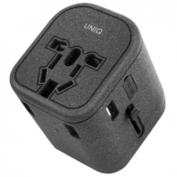 Sạc Uniq Voyage World Travel Adapter 3 USB