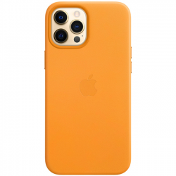 iPhone 12 Pro Leather Case with MagSafe California Poppy