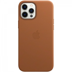 iPhone 12 Pro Leather Case with MagSafe Saddle Brown