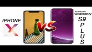 iPhone X vs Samsung Galaxy S9 plus : iPhone X thắng nghẹt thở