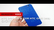 Giới thiệu HTC Dot View for HTC One (M8)